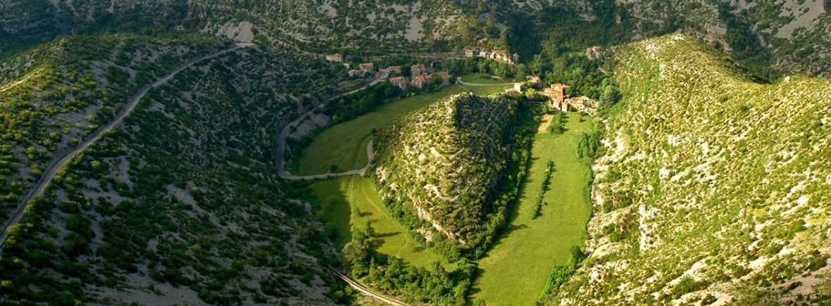 Cirque de Navacelles, près du gite Les Asphodèles - Vallée de la Vis