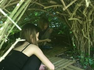 Un endroit pour les enfants au gîte Les Asphodèles - Vallée de la Vis