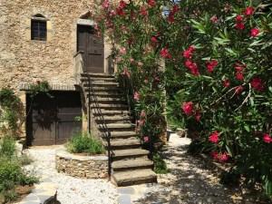 Private entrance, lodge Les Asphodèles