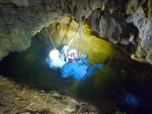 Speleology with Aigoual Pleine Nature, partner of the Lodge Les Asphodèles